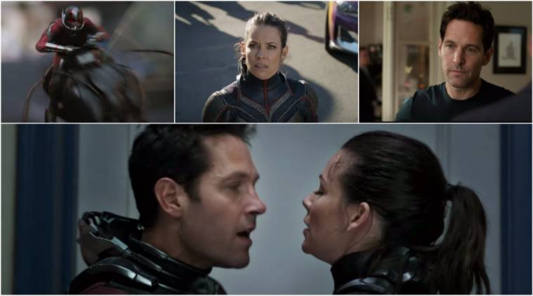 Ant-Man and the Wasp trailer stills