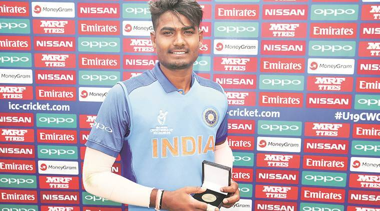 ICC U-19 World Cup 2018, ICC U-19 World Cup 2018 schedule, ICC U-19 World Cup 2018 results, India vs PNG, Anukul Roy, Anukul Roy wickets, Anukul Roy bowling, sports news, cricket, Indian Express