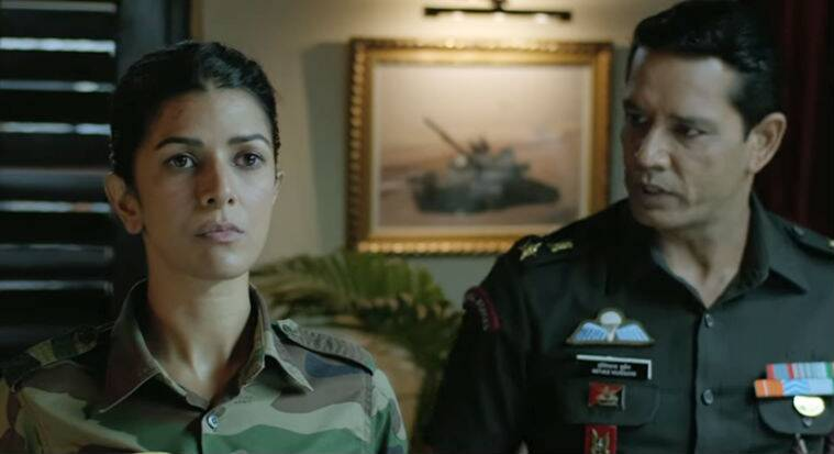 anup soni and nimrat kaur in the test case