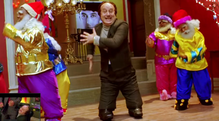 anupam kher as a dwarf in jaaneman