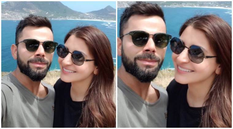 See picture: Virat Kohli, Anushka Sharma wish New Year from South Africa