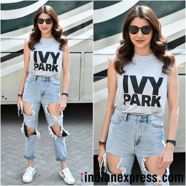 Anushka Sharma, Anushka Sharma fashion, Anushka Sharma style, Anushka Sharma latest photos, Anushka Sharma latest news, Anushka Sharma updates, Anushka Sharma images, Anushka Sharma pictures, celeb fashion, bollywood fashion, indian express, indian express news