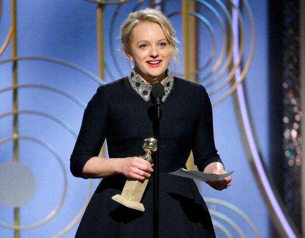 elisabeth moss the handmaid's tale golden globes