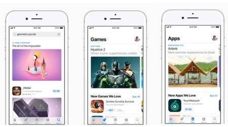 Apple, App Store, Apple App Store, App Store purchases, App Store New Year purchases, Apple AR games, Augmented Reality games Apple, Apple news