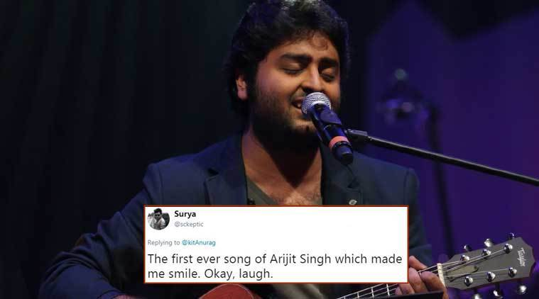 Arijit Singh, arijit singh videos, arijit singh songs, arijit singh old videos, arijit singh viral videos, twitter reactions, indian express, indian express news