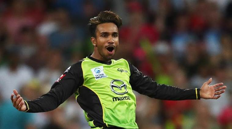 Arjun Nair suspended for suspect bowling action