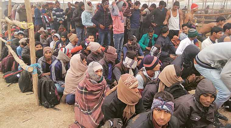 bihar, stampede during army recruitment drive, bihar army recruitment drive, bihar, indian express, indian army jobs, indian express, bihar jobs