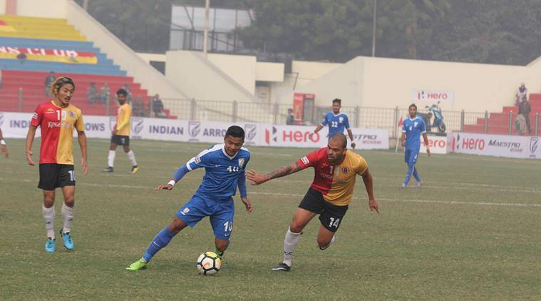 Indian Arrows played host to East Bengal in New Delhi