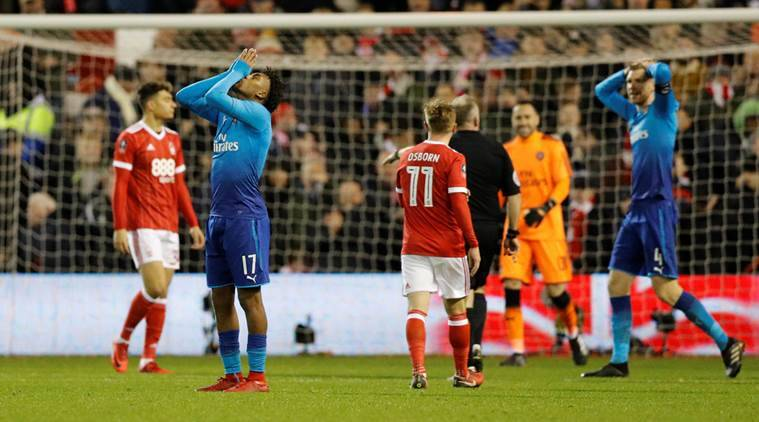 Arsenal vs Nottingham Forest, Arsenal loss, FA Cup, Nottingham Forest win, Arsene Wenger, sports news, football, Indian Express