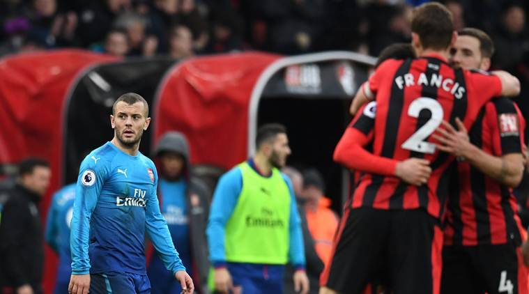 Bournemouth in stunning comeback to beat Arsenal