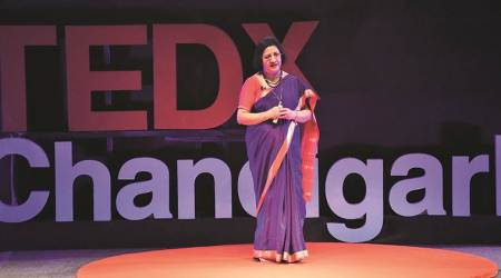 TEDx Chandigarh: Determination to never compromise with my career helped me reach the top, says former SBIchief