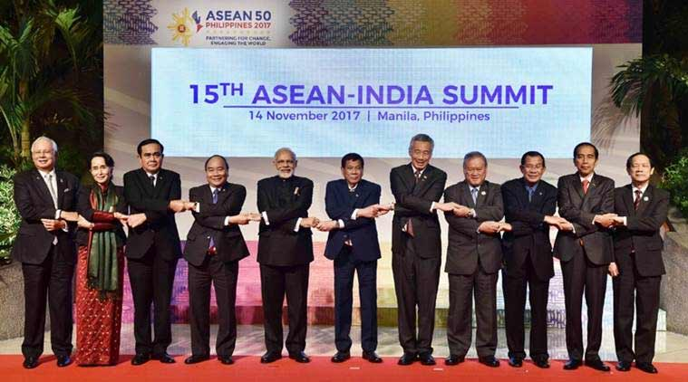 narendra modi, pm modi, asean, modi in asean, asean summit, Republic Day 2018, india news, indian express