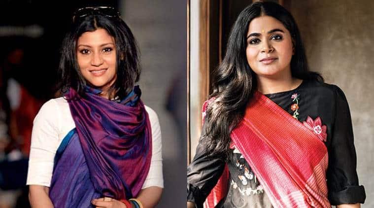 Konkana Sen Sharma and Ashwiny Iyer Tiwari