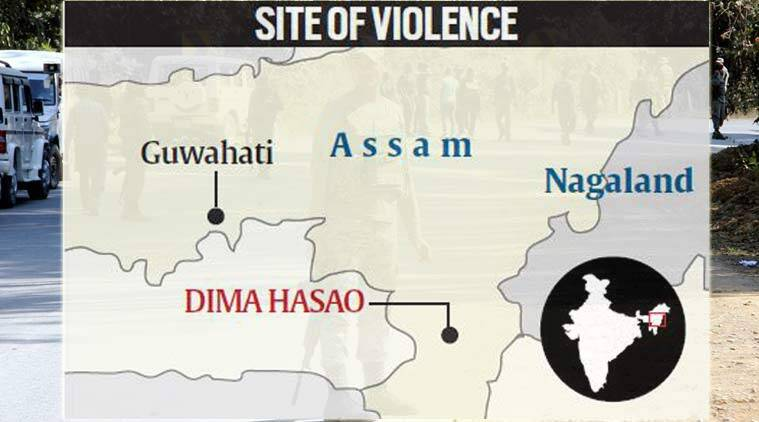 greater nagalim issue, assam protest, Maibang, Dima Hasao district, north east news, NSCN(IM), indian express, assam news