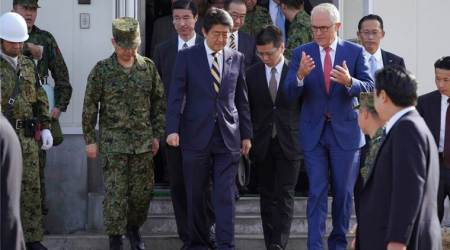 Australia PM Malcolm Turnbull in Japan for economic, security talks