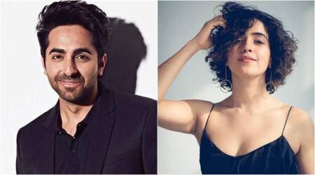 Ayushmann Khurrana and Sanya Malhotra start their next, Badhaai Ho