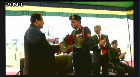 Army gifts T-55 battle tank to Azam Khan's university in Rampur