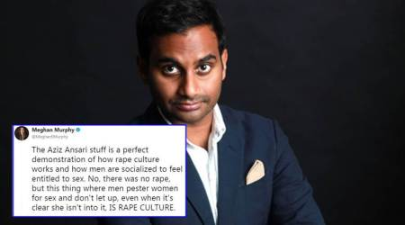 After Aziz Ansari was accused of sexual misconduct, these two Twitter threads look at largerquestions
