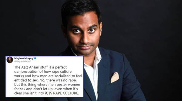 aziz ansari, aziz ansari sexual harassment, aziz ansari sexual misconduct, sexual harassement, twitter on aziz ansari, indian express, indian express news