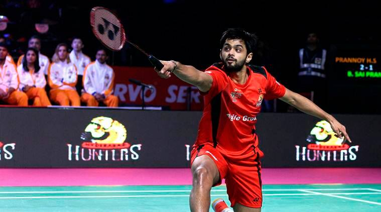 B Sai Praneeth, Hyderabad, Delhi Dashers, Premier Badminton League, PBL, sports news, badminton, Indian Express