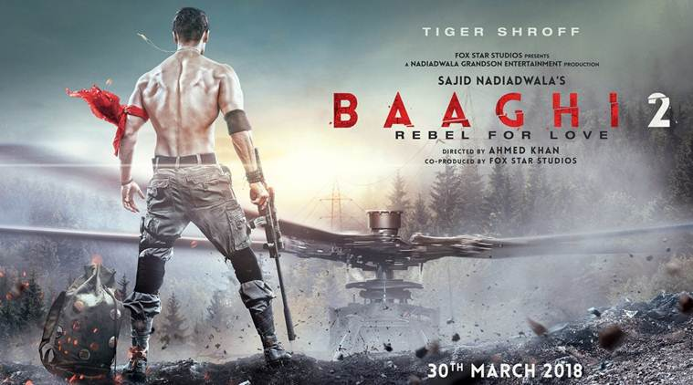 tiger shroff and disha patani announce baaghi 2 release date