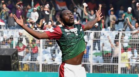 Mohun Bagan dedicate derby win to injured Sony Norde