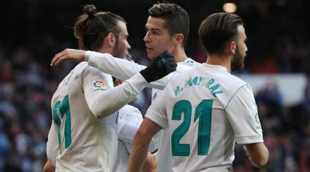 Attacking trio Cristiano Ronaldo, Gareth Bale and Karim Benzema reunited as Real Madrid show they are still aforce