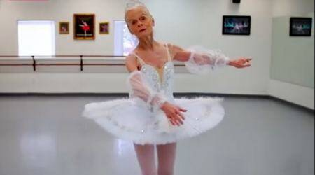 WATCH: At 77, this ballerina inspires her students to do what they love