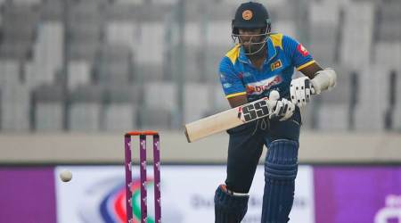 Nidahas Trophy: Angelo Mathews ruled out with calf injury