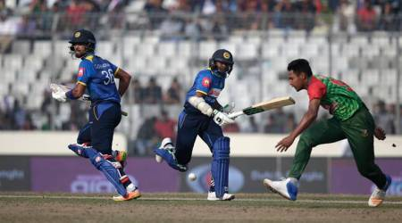 Sri Lanka beat Bangladesh by 6 wickets in first T20I in Dhaka