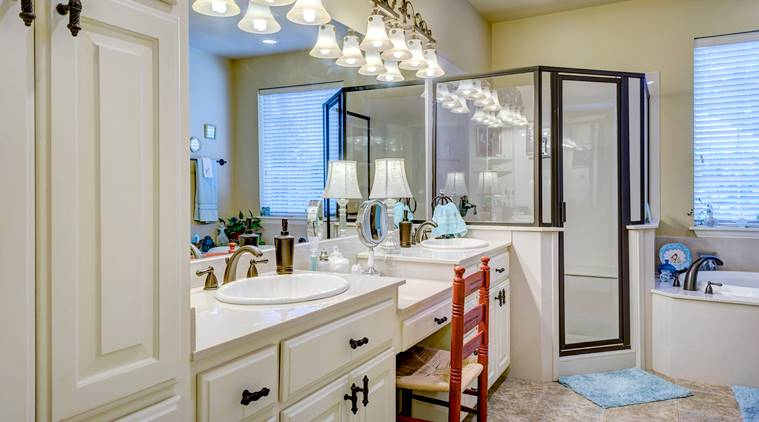 Turn Boring Bathroom Into A Contemporary One Lifestyle News The Indian Express