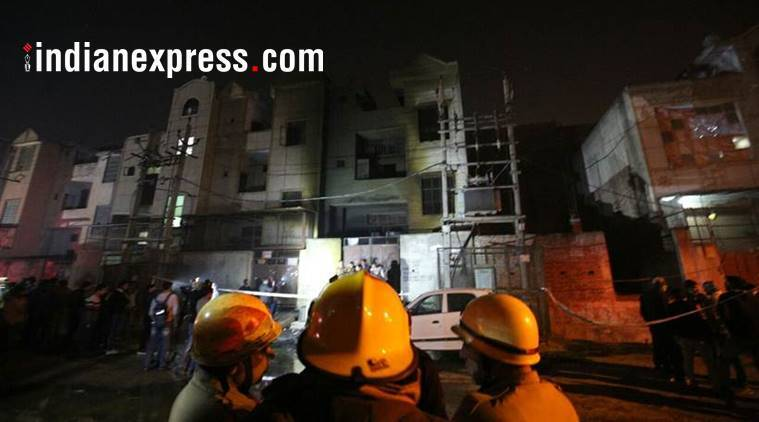 bawana factory fire, delhi factory, fire, delhi fire dept, plastic unit fire, dsiidc, bawana chamber of commerce, bawana industrial area, delhi factory norms, indian express