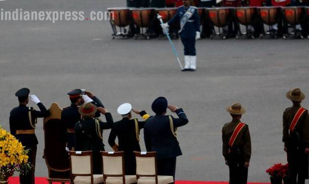 Beating retreat ceremony marks end of Republic day celebration