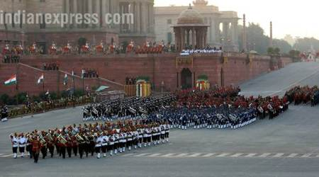 See pictures of beating the retreat ceremony