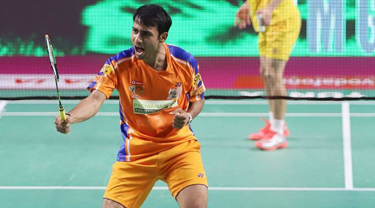Bengaluru Blasters, Bengaluru Blasters vs Hyderabad Hunters, Premier Badminton League, sports news, badminton, Indian Express