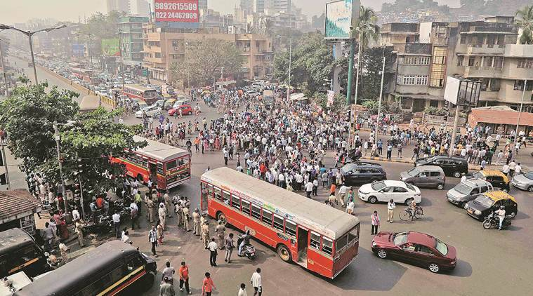 Dalit protestors try to disrupt traffic, stop rail services in Thane