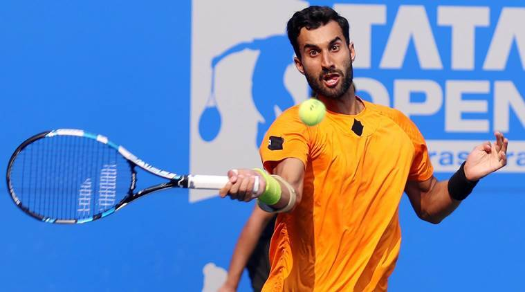 Yuki Bhambri crashes out of first round in straight-set defeat