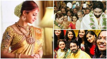 Malayalam actor Bhavana marries Kannada producer Naveen, see first photos from the wedding