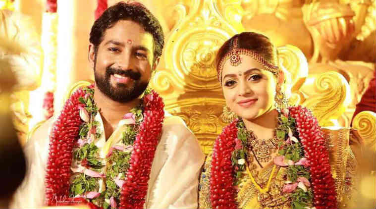 Bhavana gets married in traditional ceremony