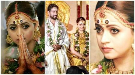 Malayalam actor Bhavana marries Kannada producer Naveen, see inside photos