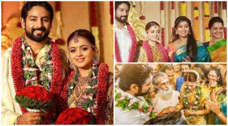 Bhavana ties the knot with Naveen; see all photos, videos from their wedding