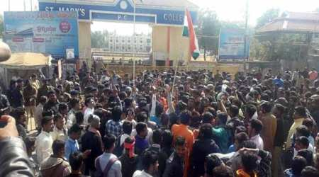 Madhya Pradesh: ABVP members create ruckus over Bharat Mata aarti