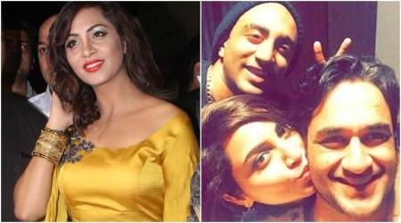 Bigg Boss 11 ex-contestants Arshi Khan, Vikas Gupta and Priyank Sharma party together. See photos