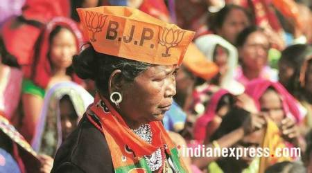 BJP has entered into an alliance with the IPFT, a party that seeks a separate state for tribals.