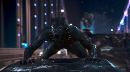 Black Panther new clip: Stan Lee, Chadwick Boseman, Kevin Feige and that iconic back-flip