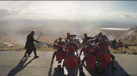 Black Panther's latest clip highlights Wakanda's all-femalespecial-forces