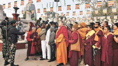 Explosives at Bodhgaya: Tibetan spiritual leader Dalai Lama was not the target