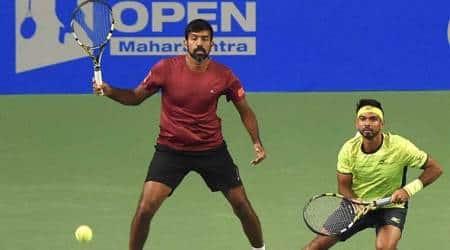 Defending champions Rohan Bopanna, Jeevan Nedunchezhiyan ousted, Yuki Bhambri-Divij Sharan in Maharashtra Opensemis