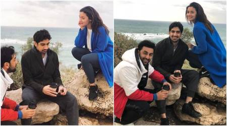 Ranbir Kapoor and Alia Bhatt begin the New Year with the prep for Brahmastra