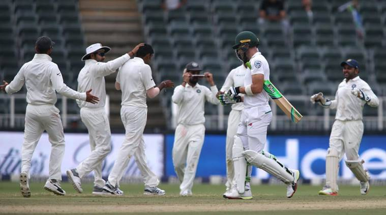 India are playing 3rd Test against South Africa at Wanderers.